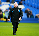 Sammy Lee assistant coach of Everton during the premier league match at the Goodison Park Stadium, Liverpool. Picture date 2nd December 2017. Picture credit should read: Simon Bellis/Sportimage