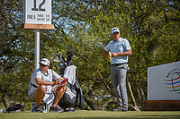 Charles Howell III (USA) eats a banana while waiting to tee off on 12 during round 1 of the World Golf Championships, Dell Match Play, Austin Country Club, Austin, Texas. 3/21/2018.<br /> Picture: Golffile | Ken Murray<br /> <br /> <br /> All photo usage must carry mandatory copyright credit (&copy; Golffile | Ken Murray)