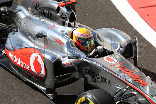 11.11.2011 Abu Dhabi, United Arab Emirates. Yas Marina Circuit, Lewis Hamilton, McLaren Mercedes, .., during the practice day of the FIA Formula One Grand Prix of Abu Dhabi UAE.