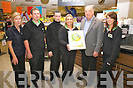 Dunne's Gala Store in Cahersiveen wins Gold award for Store of the Year earlier this month in Lyrath Hotel in Kilkenny, pictured here l-r; Susan McElveen, Johnny Walsh, Dwayne Dunne, Gail Hasell, Terry Dune & Leanne Corcoran.