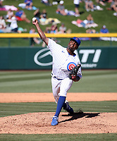 Jharel Cotton - Chicago Cubs 2020 spring training (Bill Mitchell)