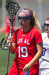 Torrance, CA 05/11/13 - Grace Schmidt-Beck (Los Alamitos #19) during the 2013 Los Angeles/Orange County Championship game between Los Alamitos and Agoura.  Los Alamitos defeated Agoura 19-4.