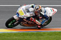 11.11.2012 SPAIN GP Generali de la Comunitat Valenciana Moto 2  Race. The picture show Julian Simon (Spanish Rider Bqr FTR)