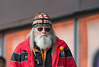 Barnet Supporter during the Sky Bet League 2 match between Barnet and Wycombe Wanderers at The Hive, London, England on 17 April 2017. Photo by Andy Rowland.