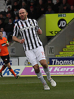 Sam Parkin in the St Mirren v Dundee United Clydesdale Bank Scottish Premier League match played at St Mirren Park, Paisley on 27.10.12.