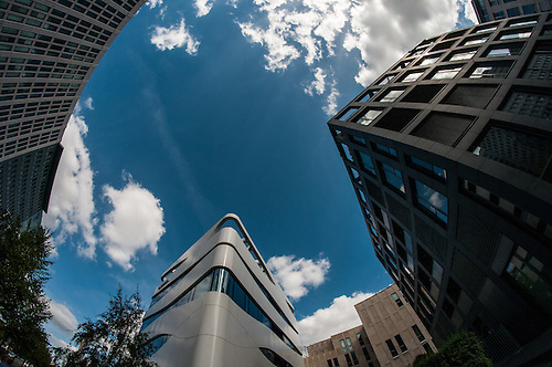 A fish eye view of Berlin<br /> Potsdammer Platz