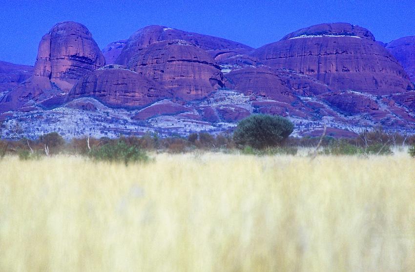 The Olgas Kata Tjuta in Uluru National Park, Northern Territory, Central Australia