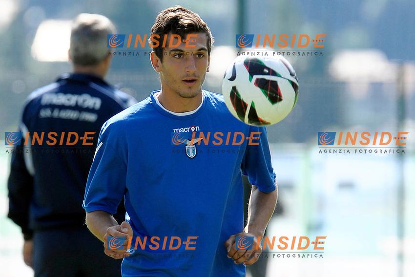 Antonio Rozzi.Auronzo di Cadore 23/7/2012.Football Calcio 2012 / 2013 .Allenamento.Foto Insidefoto.