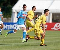 Jose Callejon  durante l amichevole Napoli  Anaune a Dimaro 21 Luglio 2015<br /> <br /> Preseason summer training of Italy soccer team  SSC Napoli  in Dimaro Italy July 11, 2015