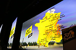 Tour de France 2019 route presentation held at Palais de Congress, Paris, France. 25th October 2018.<br />