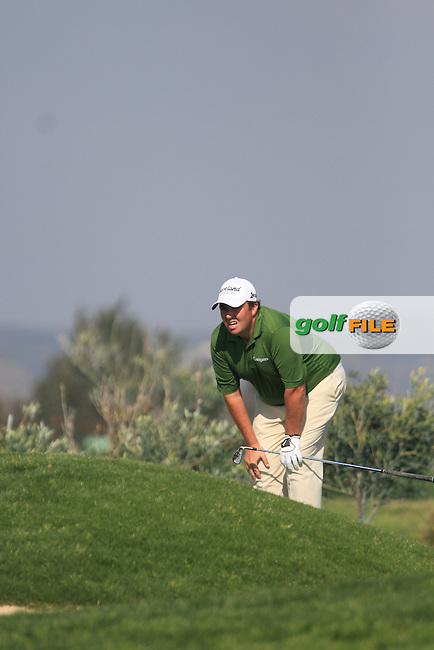 Shane Lowry (IRL) on the 15th on Day 2 of the 2012 Sicilian Open at Verdura Golf and Spa Resort, Sicily, Italy...(Photo Jenny Matthews/www.golffile.ie)