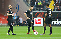 Die Büffelherde: Ante Rebic (Eintracht Frankfurt), Luka Jovic (Eintracht Frankfurt), Sebastien Haller (Eintracht Frankfurt) - 31.03.2019: Eintracht Frankfurt vs. VfB Stuttgart, Commerzbank Arena, DISCLAIMER: DFL regulations prohibit any use of photographs as image sequences and/or quasi-video.