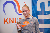 Hilversum, Netherlands, December 3, 2017, Winter Youth Circuit Masters, 12,14,and 16 years, 6 th place girls 14 years  Sophie Schouten<br /> Photo: Tennisimages/Henk Koster