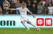 10th September 2017, Liberty Stadium, Swansea, Wales; EPL Premier League football, Swansea versus Newcastle United; Sam Clucas of Swansea City in action during the match