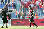 08.06.2019., stadium Gradski vrt, Osijek - UEFA Euro 2020 Qualifying, Group E, Croatia vs. Wales.  Gareth Bale, Luka Modric. <br /> <br /> Foto © nordphoto / Goran Stanzl/PIXSELL