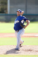 Josh Lindblom - Los Angeles Dodgers - 2010 Instructional League.Photo by:  Bill Mitchell/Four Seam Images..