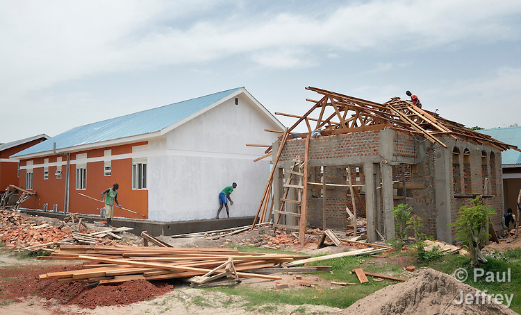 Construction of new facilities at the Solidarity Teacher Training College in Yambio, South Sudan. Run by Solidarity with South Sudan, an international network of Catholic organizations supporting the development of the world's newest country, the College trains teachers from throughout the nation.