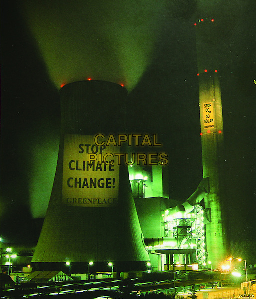 Greenpeace protest at nuclear power plant in Germany<br /> in A Fierce Green Fire (2012) <br /> *Filmstill - Editorial Use Only*<br /> CAP/NFS<br /> Image supplied by Capital Pictures