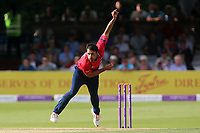 Ravi Bopara in bowling action for Essex during Essex Eagles vs Notts Outlaws, Royal London One-Day Cup Semi-Final Cricket at The Cloudfm County Ground on 16th June 2017