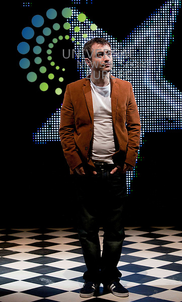In Pic Joe McFadden. National theatre of Scotland  and the National portrait gallery present The Missing new stage production, and video installation, by artist Graham Fagen, looking at a side of serial murders and the overlooked humanity of the victims   .Picture: Johnny Mclauchlan Universal News and Sport (Europe)14/09/2011,