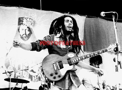 Bob Marley 1979 Santa Barbara.© Chris Walter.