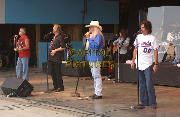 THE OAK RIDGE BOYS.Perform at the 28th Annual Jamboree in the hills, Morristown, OH, USA, 17th July 2004..half length long white hair beard.Ref: ADM.www.capitalpictures.com.sales@capitalpictures.com.©JN/AdMedia/Capital Pictures .