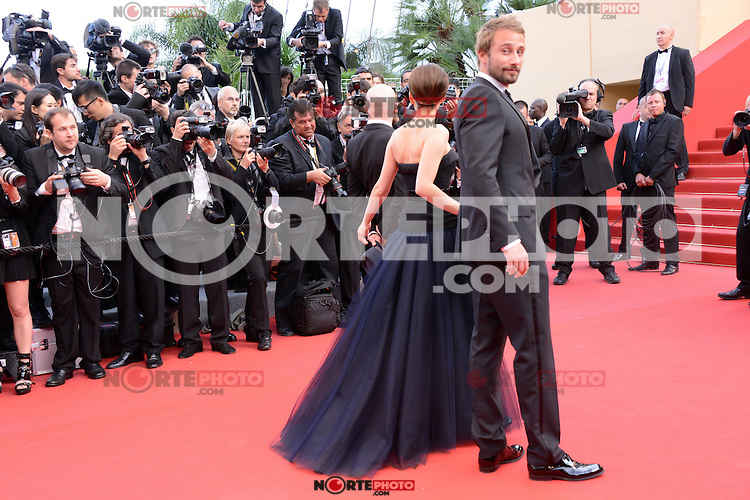 "Marion Cotillard and  Matthias Schoenaerts attending the ""De Rouille et D'os"" Premiere during the 65th annual International Cannes Film Festival in Cannes, 17th May 2012...Credit: Timm/face to face /MediaPunch Inc. ***FOR USA ONLY***"