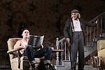 Sebastian Narkaris & Jarlath Conroy star in Harold Pinter's The Homecoming at Centerstage, Baltimore, Maryland. Dress Rehearsal - January 27, 2011. (Photos by Sue Coflin/Max Photos)