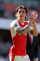 Hector Bellerín of Arsenal after Arsenal vs Everton, Premier League Football at the Emirates Stadium on 21st May 2017