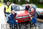 Willie Reidy John Clifford, Eddie and John Mannix and Maurice Costello at the Paudie Fitzmaurice memorial Vintage run in Cordal on Sunday