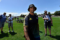 Hurricanes' Assistant coach Carlos Spencer  during the Super Rugby Preseason - Hurricanes v Crusaders at Levin Domain, Levin, New Zealand on Saturday 2 February 2019. <br /> Photo by Masanori Udagawa. <br /> www.photowellington.photoshelter.com