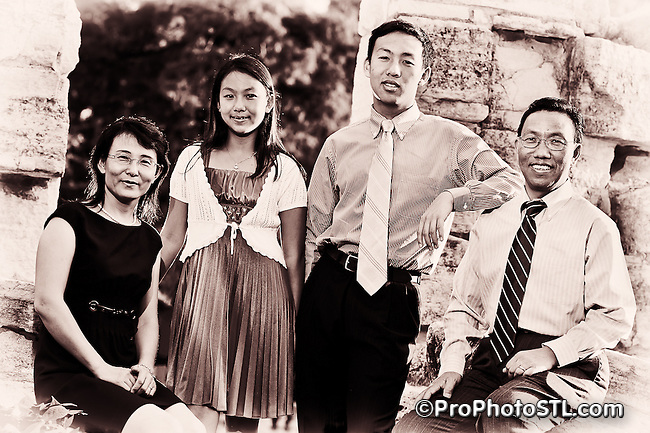 Li family portraits