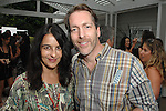 Esma Annemon Dil, Don Siebert==<br /> LAXART 5th Annual Garden Party Presented by Tory Burch==<br /> Private Residence, Beverly Hills, CA==<br /> August 3, 2014==<br /> &copy;LAXART==<br /> Photo: DAVID CROTTY/Laxart.com==