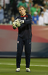 06 February 2008: Brad Guzan (USA). The United States Men's National Team played the Mexico Men's National Team to a 2-2 tie at the Reliant Stadium in Houston, TX in a men's international friendly soccer game.