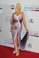 LOS ANGELES, CA - NOVEMBER 18: Christina Aguilera at the 40th American Music Awards held at Nokia Theatre L.A. Live on November 18, 2012 in Los Angeles, California. Credit: mpi20/MediaPunch Inc. NortePhoto