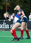 HUIZEN  -   Annabel Weers (HUI)  , hoofdklasse competitiewedstrijd hockey dames, Huizen-Groningen (1-1)   COPYRIGHT  KOEN SUYK