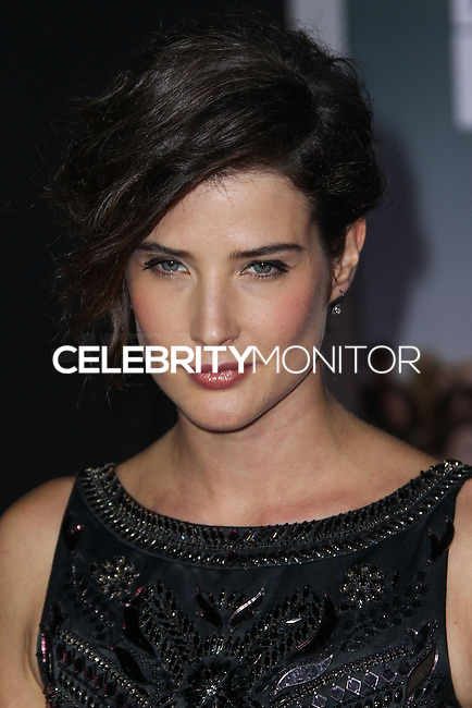 "HOLLYWOOD, CA - NOVEMBER 03: Cobie Smulders at the Los Angeles Premiere Of DreamWorks Pictures' ""Delivery Man"" held at the El Capitan Theatre on November 3, 2013 in Hollywood, California. (Photo by Xavier Collin/Celebrity Monitor)"