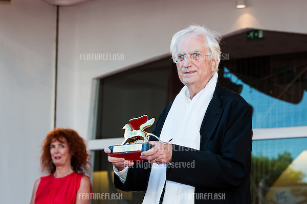 French director Bertrand Tavernierat a special screening of Tavernier's 1989 movie &quot;Life And Nothing But&quot; (&quot;La vie et rein d'autra&quot;). He was awarded with the Golden Lion For Lifetime Achievement 2015 at a ceremony at the 2015 Venice Film Festival.<br /> September 8, 2015  Venice, Italy<br /> Picture: Kristina Afanasyeva / Featureflash