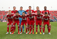 July 20, 2013: The starting eleven of Toronto FC in a game between Toronto FC and the Columbus Crew at BMO Field in Toronto, Ontario Canada.<br /> Toronto FC won 2-1.