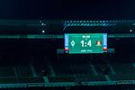 Feature Anzeigentafel Endstand 1:4<br /> <br /> Sport: Fussball: 1. Bundesliga: Saison 19/20: <br /> 26. Spieltag: SV Werder Bremen vs Bayer 04 Leverkusen, 18.05.2020<br /> <br /> Foto ©  gumzmedia / Nordphoto / Andreas Gumz / POOL <br /> <br /> Nur für journalistische Zwecke! Only for editorial use!<br />  DFL regulations prohibit any use of photographs as image sequences and/or quasi-video.