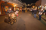 Saturday during Jackson, California's annual Christmas Delights open house on Main Street, Black Friday and Plaid Saturday nights...(Plaidurday, shop locally promotion)