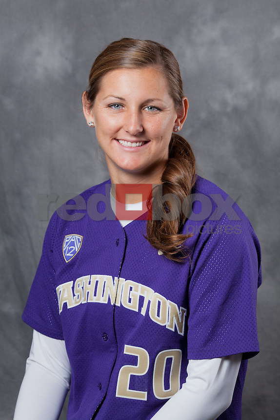 Lindsay Monk - junior -- 2011-12 University of Washington Huskies softball team at Husky Softball Stadium in Seattle Wednesday, Sept. 14, 2011. (Photo by Andy Rogers/Red Box Pictures)