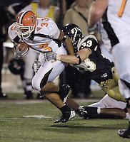 Florida International University Golden Panthers v. Bowling Green University Falcons at Miami, Florida on Saturday, September 16, 2006...Freshman linebacker Matt Garris (33)