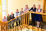 Performers l-r Brendan Shine, Ray Lynan, Sean O'Sé, Michael O'Brien, Philomena McGovern, PJ Murrihy, Johnny Dawson and Peggie Sweeney. at the Radio Kerry All Irish Music Concert in the Brandon Hotel on Monday