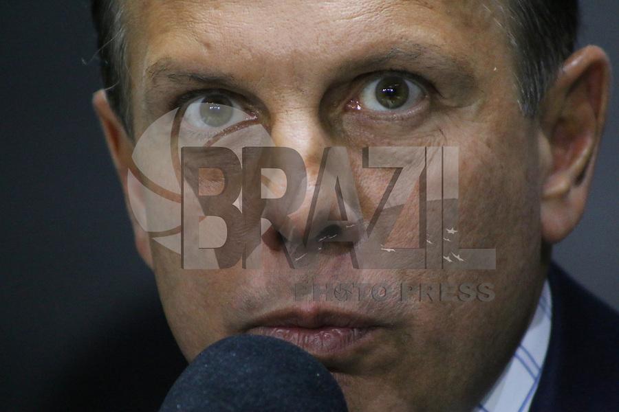 SÃO PAULO, SP, 15.02.2019: POLÍTICA-SP: João Doria, Governador de São Paulo, durante anúncio da 1ª concessão rodoviária da atual gestão e anúncio de campanha de combate a dengue, nesta sexta-feira, 15. ( Foto: Charles Sholl/Brazil Photo Press/Folhapress)