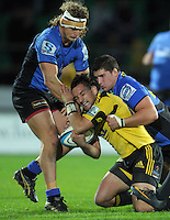 110527 Super 15 Rugby - Hurricanes v Force