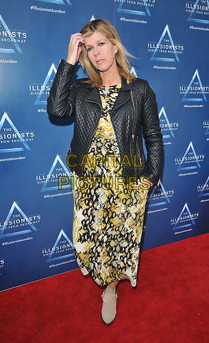 """Kate Garraway at the """"The Illusionists"""" show press night, Shaftesbury Theatre, Shaftesbury Avenue, London, England, UK, on Wednesday 10th July 2019.<br /> CAP/CAN<br /> ©CAN/Capital Pictures"""