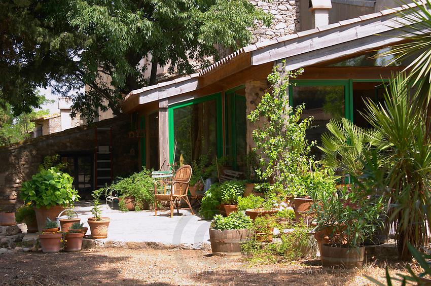 Domaine Peyre Rose, St Pargoire. Gres de Montpellier. Languedoc. The main building. France. Europe.