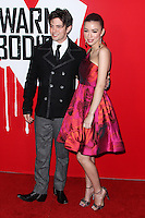 "HOLLYWOOD, CA - JANUARY 29: Jackson Rathbone and Christian Serratos arrive at the ""Warm Bodies"" Los Angeles Premiere held at ArcLight Cinemas Cinerama Dome on January 29, 2013 in Hollywood, California. Photo Credit: Xavier Collin / Retna Ltd. / MediaPunch Inc /NortePhoto"