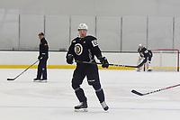 June 28, 2018: Boston Bruins defenseman Teemu Kivihalme (60) skates during the Boston Bruins development camp held at Warrior Ice Arena in Brighton Mass. Eric Canha/CSM
